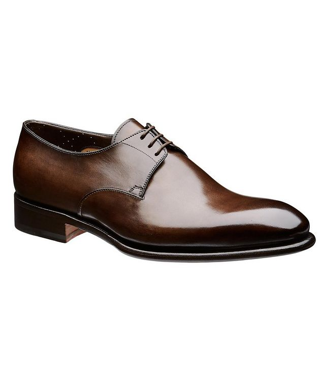 Carter Leather Derbies picture 1