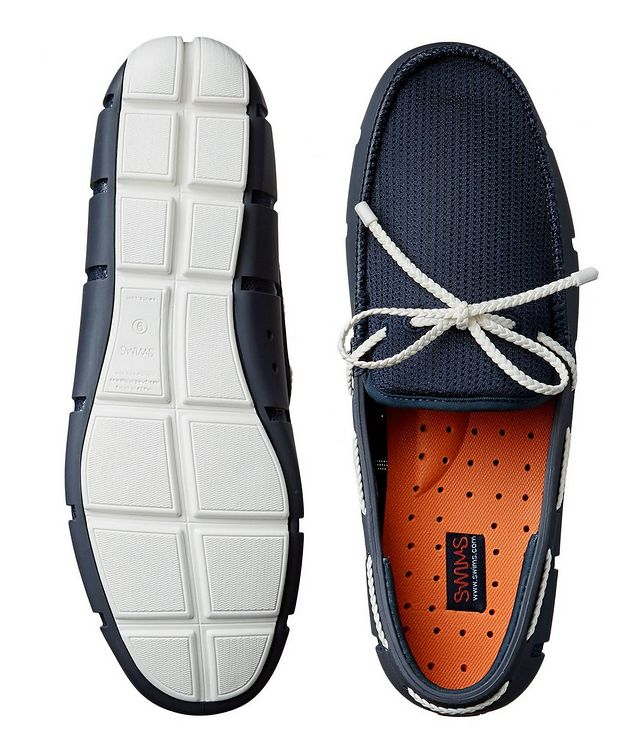 Braided Lace-Up Loafers picture 3