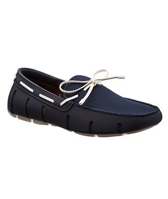 Swims Braided Lace-Up Loafers