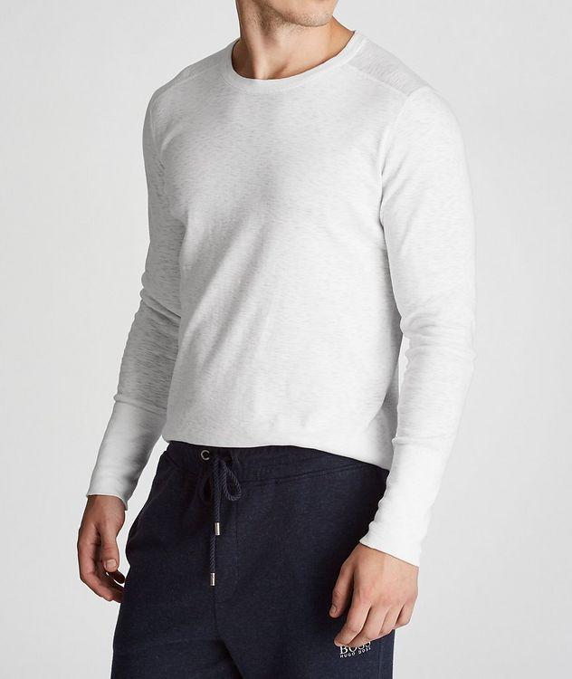 T-shirt en coton à manches longues picture 1