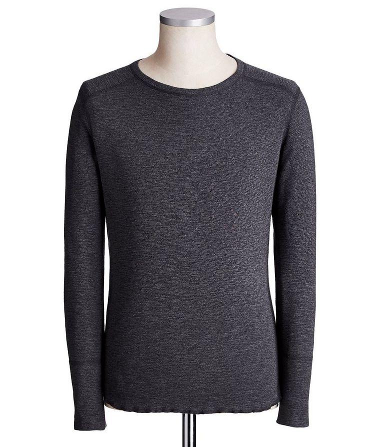 T-shirt en coton à manches longues image 0