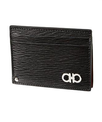 Salvatore Ferragamo Leather Cardholder