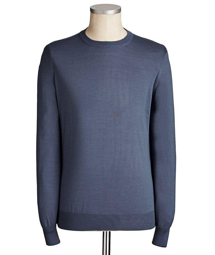 Virgin Wool & Cashmere Blend Sweater image 0