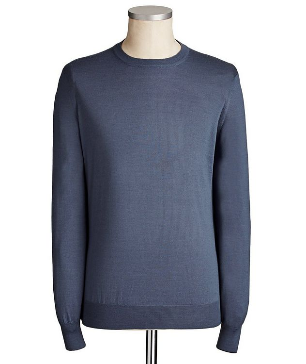Virgin Wool & Cashmere Blend Sweater picture 1