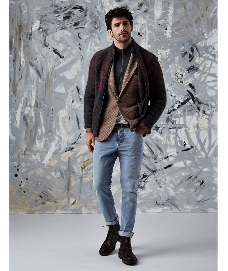 Unstructured Sports Jacket image 2
