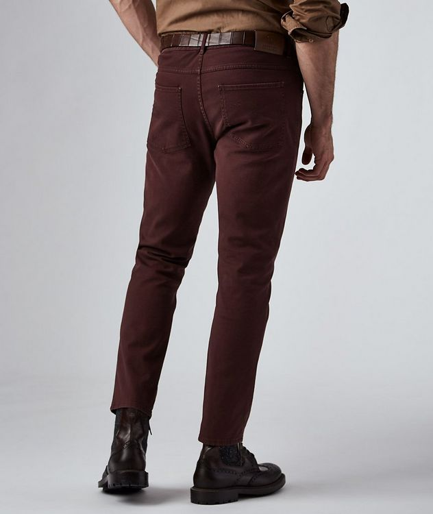 Stretch Cotton Five Pocket Pants picture 2