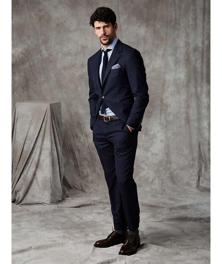 Slub Wool Suit image 2