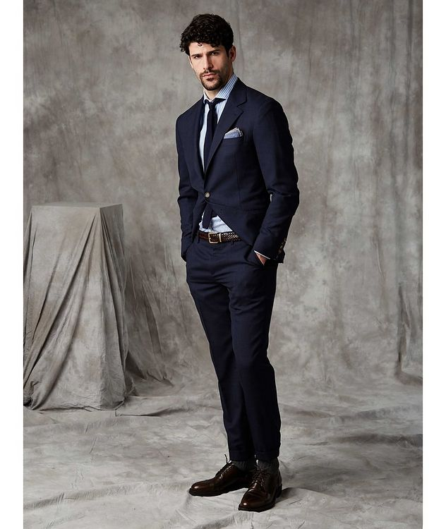 Slub Wool Suit picture 3