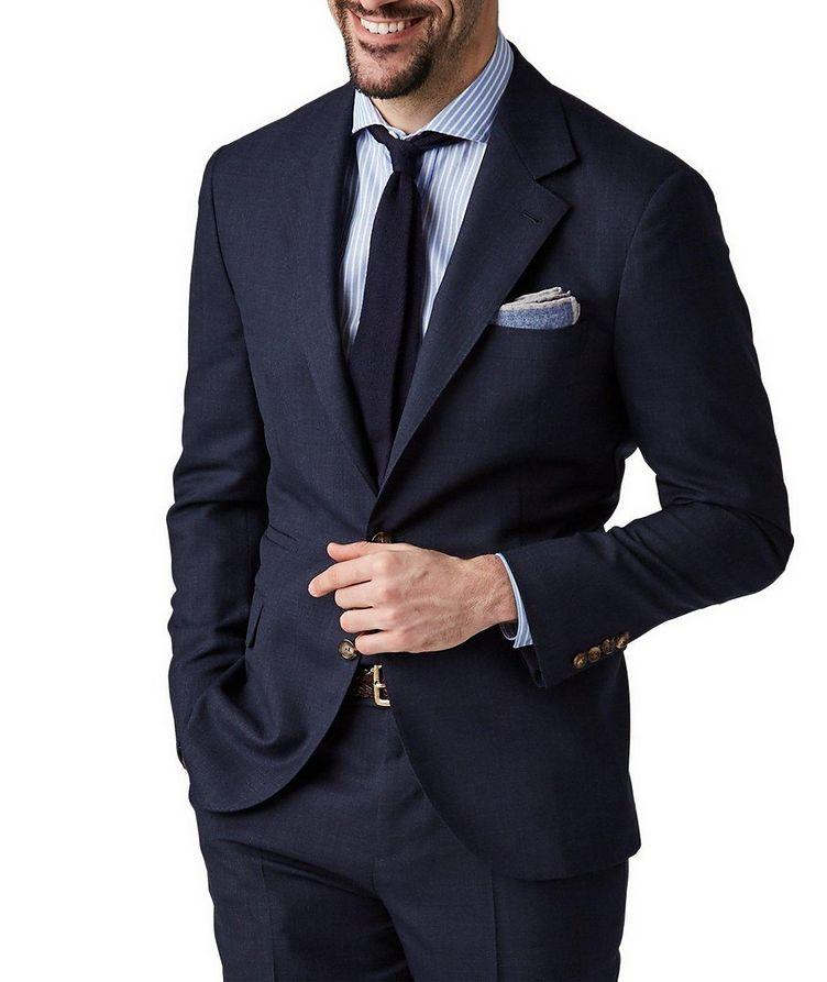 Slub Wool Suit image 0