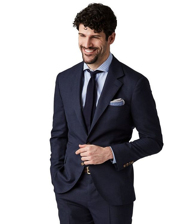 Slub Wool Suit picture 1
