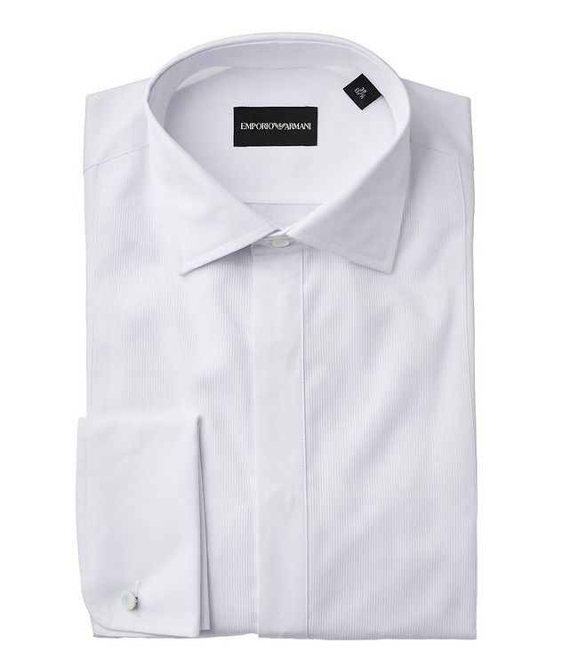 Slim Fit Ribbed Dress Shirt  picture 1