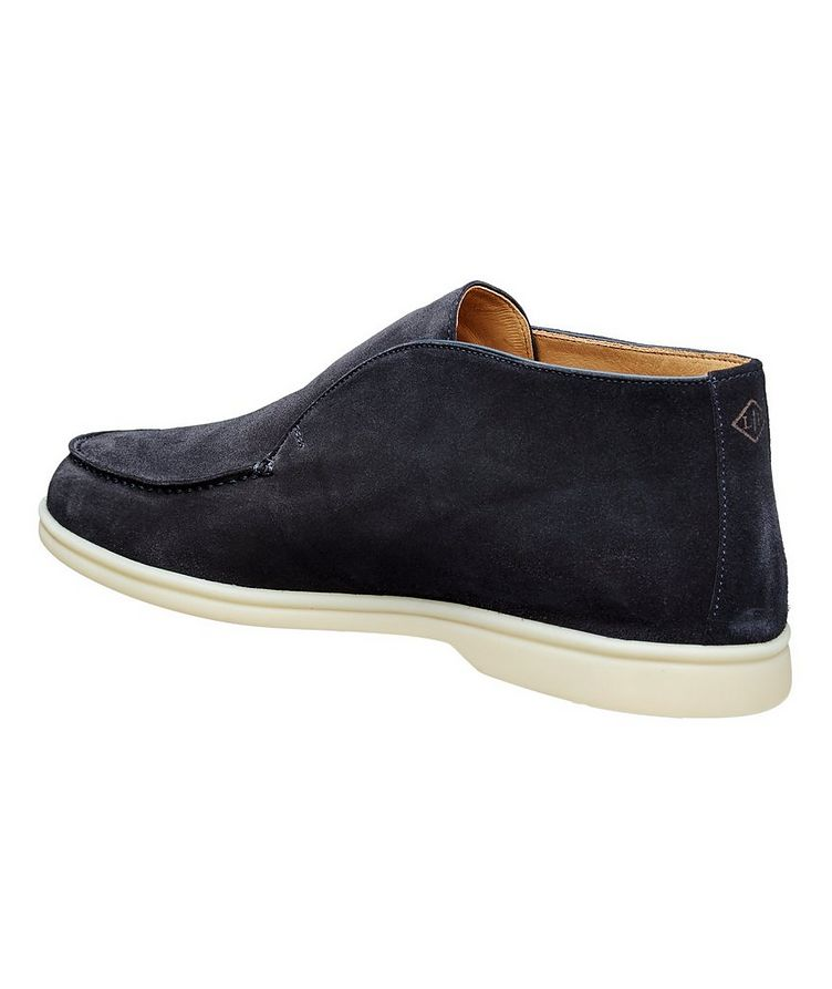 Suede Slip-On Boots image 1