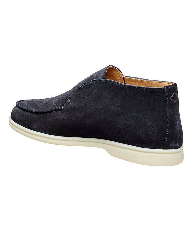 Suede Slip-On Boots picture 2