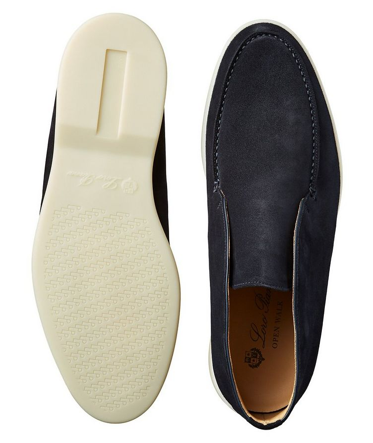 Suede Slip-On Boots image 2