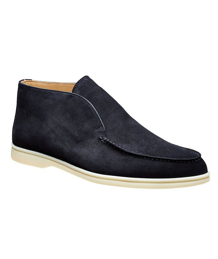 Suede Slip-On Boots image 0