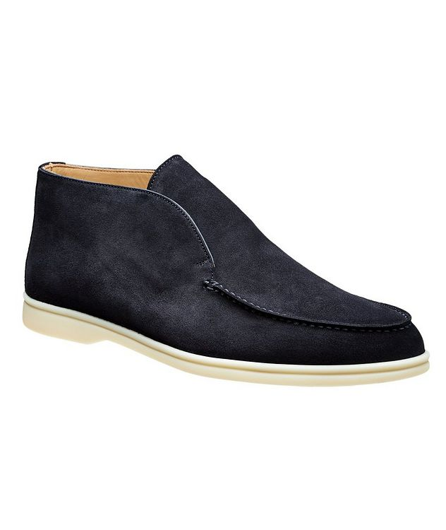 Suede Slip-On Boots picture 1