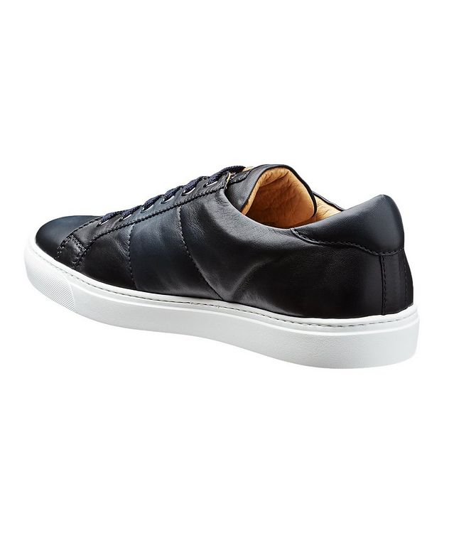 Leather Low-Tops picture 2