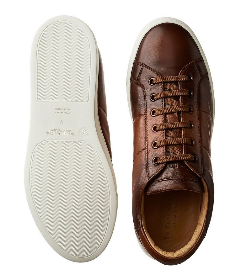 Leather Low-Tops image 2