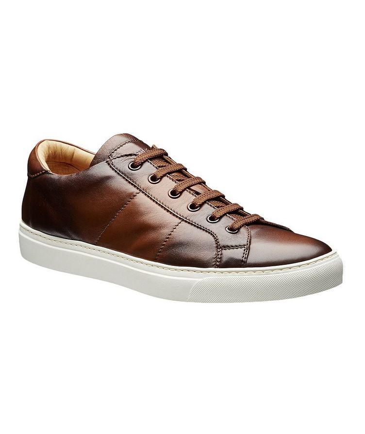 Chaussure sport en cuir image 0