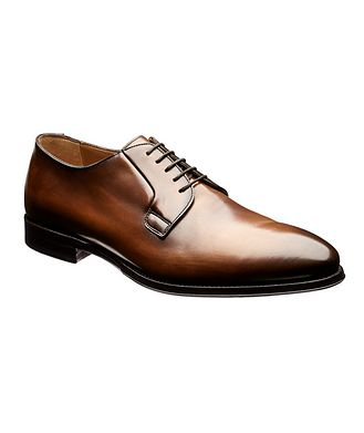 Antonio Maurizi Burnished Leather Derbies