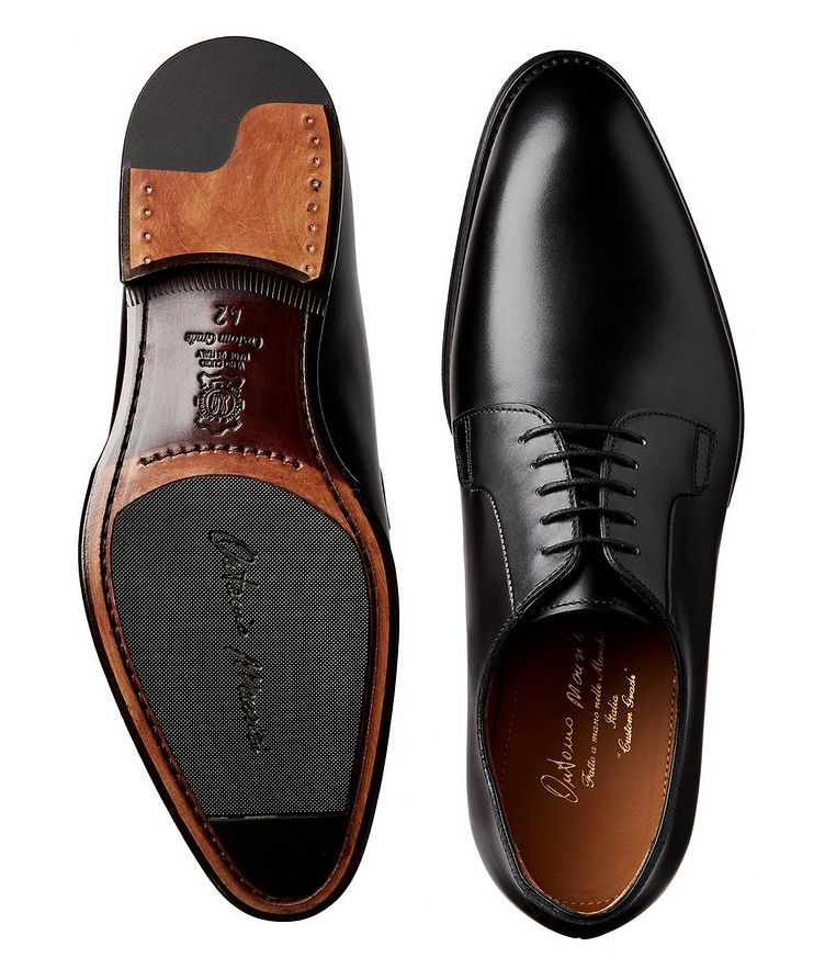 Calfskin Leather Oxfords image 2
