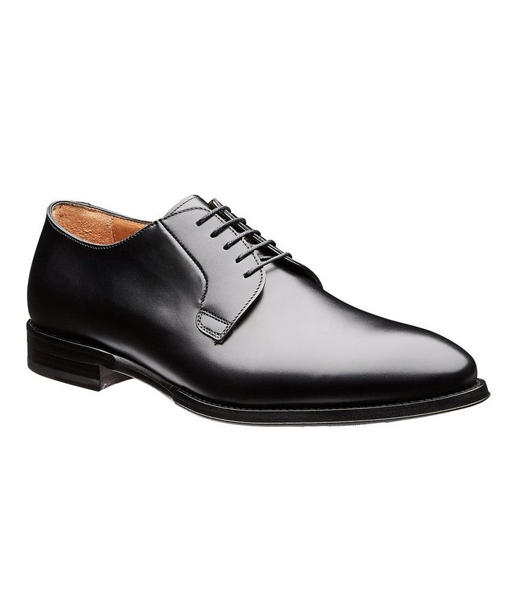 Calfskin Leather Oxfords image 0