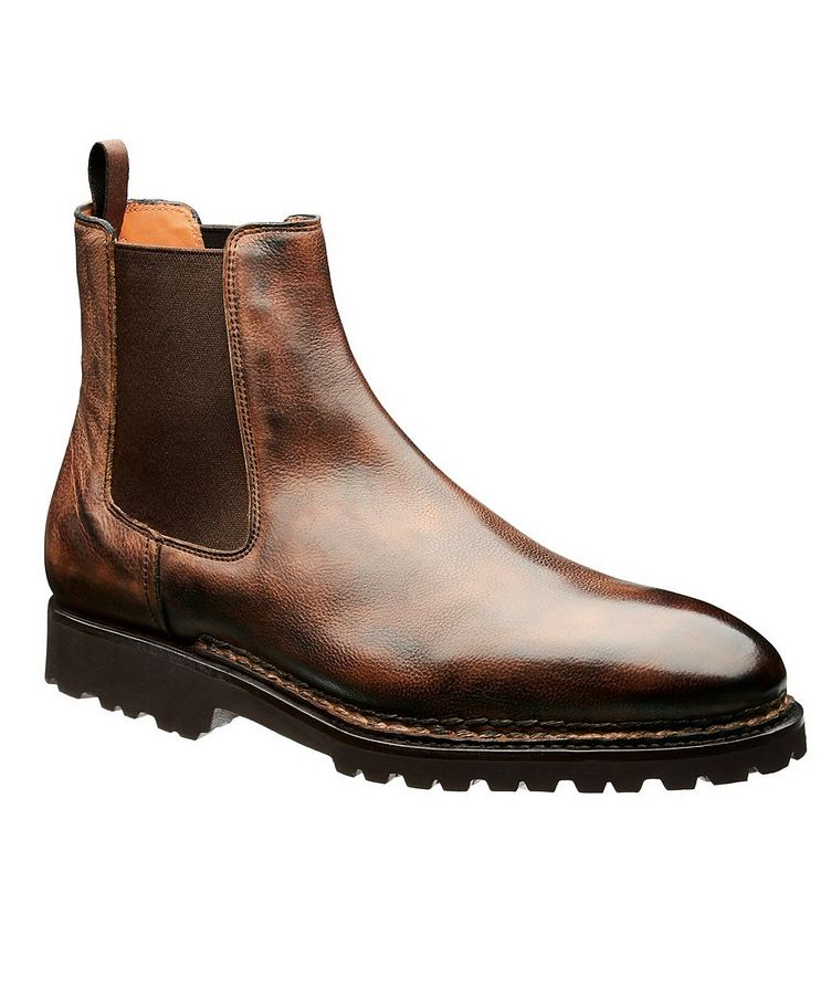 Calfskin Chelsea Boots image 0