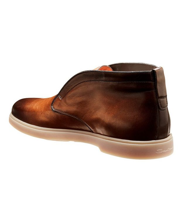 Leather Slip-On Boots picture 2