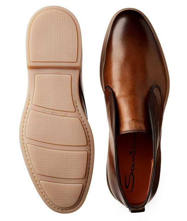Leather Slip-On Boots picture 3