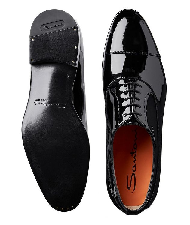 Cap-Toe Patent Leather Oxfords picture 3