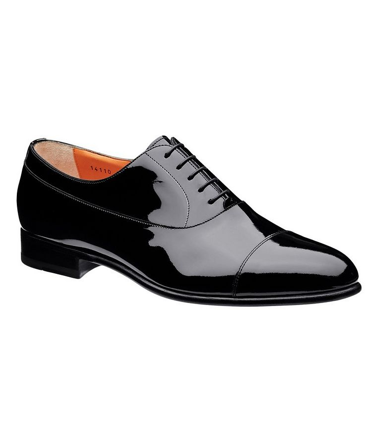 Cap-Toe Patent Leather Oxfords image 0