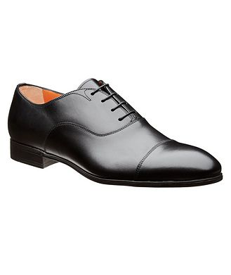 Santoni Cap-Toe Oxfords