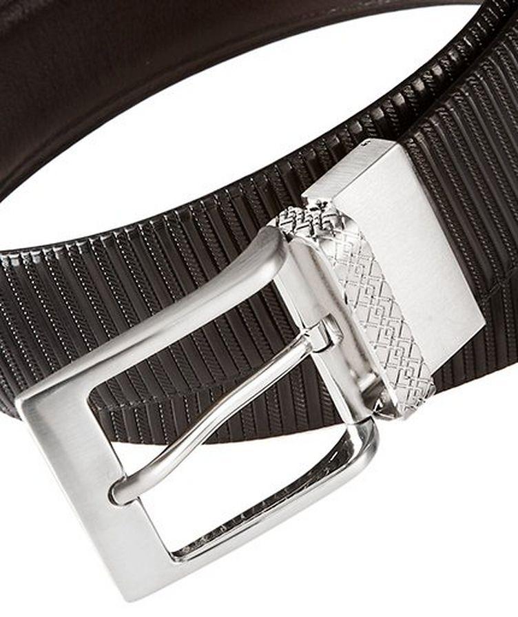 Textured Leather Belt image 1
