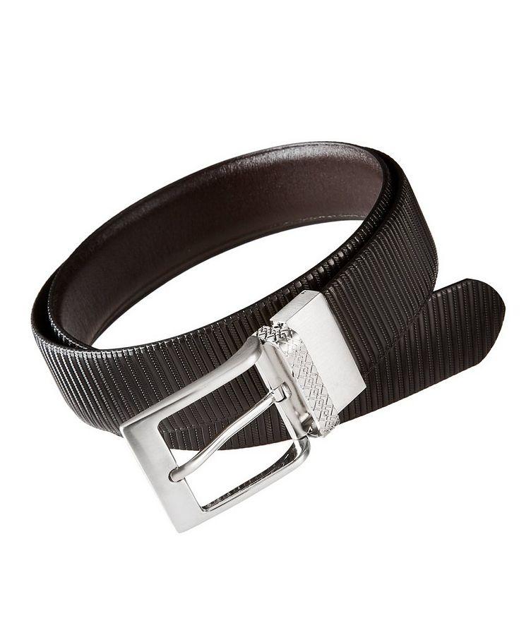 Textured Leather Belt image 0