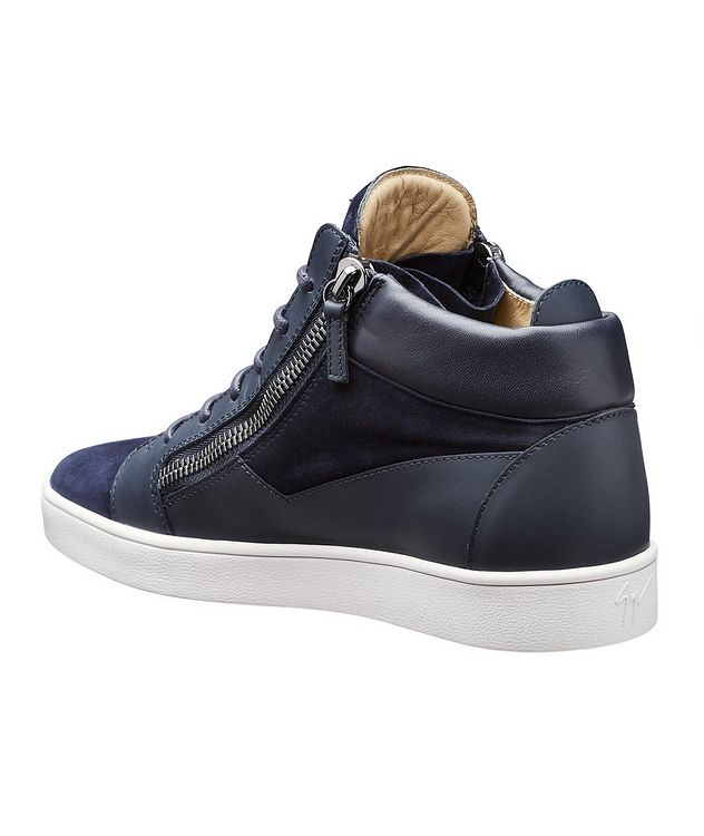 Leather Mid-Tops picture 2