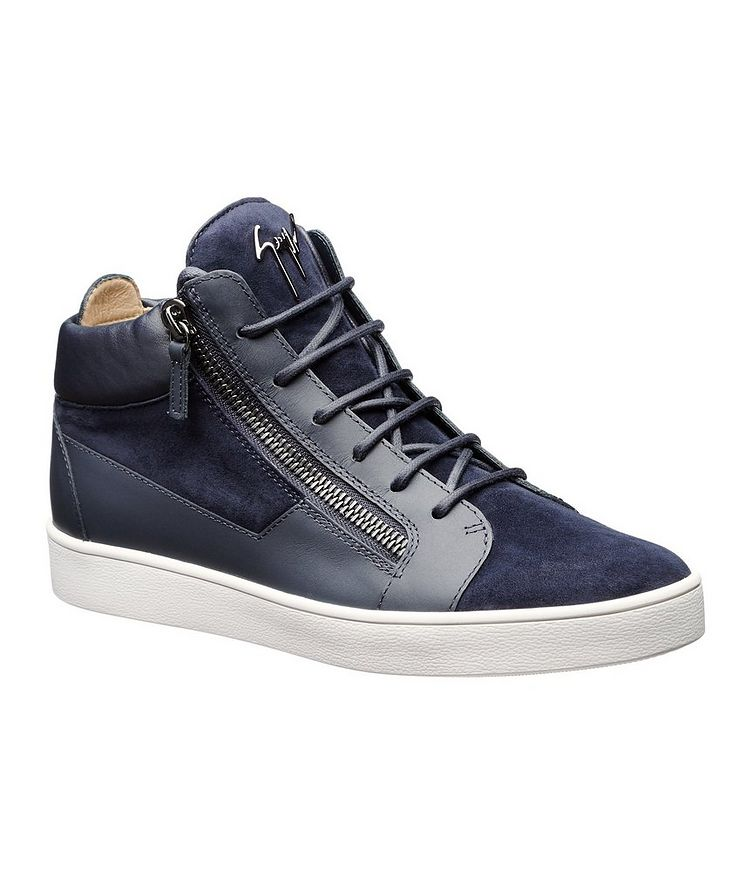 Leather Mid-Tops image 0