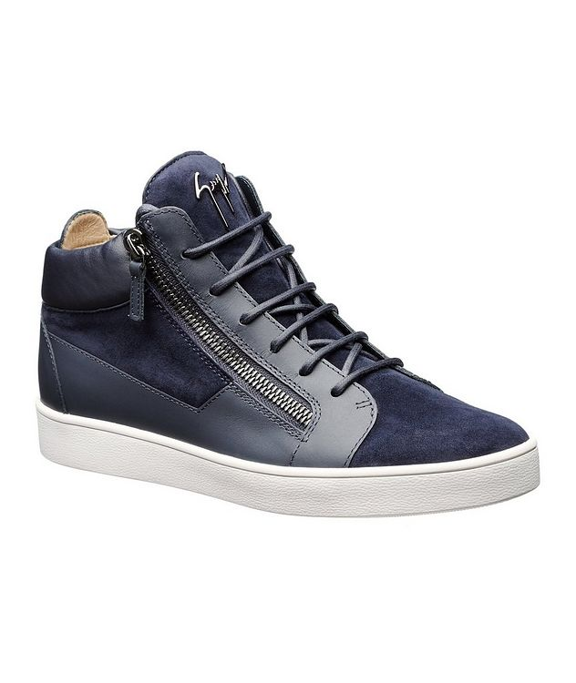 Leather Mid-Tops picture 1
