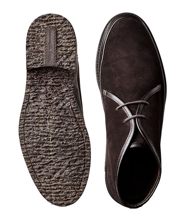 Suede & Leather Boots picture 3