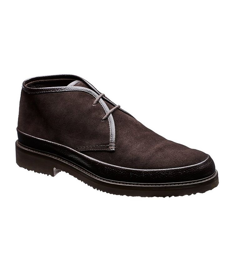 Suede & Leather Boots image 0