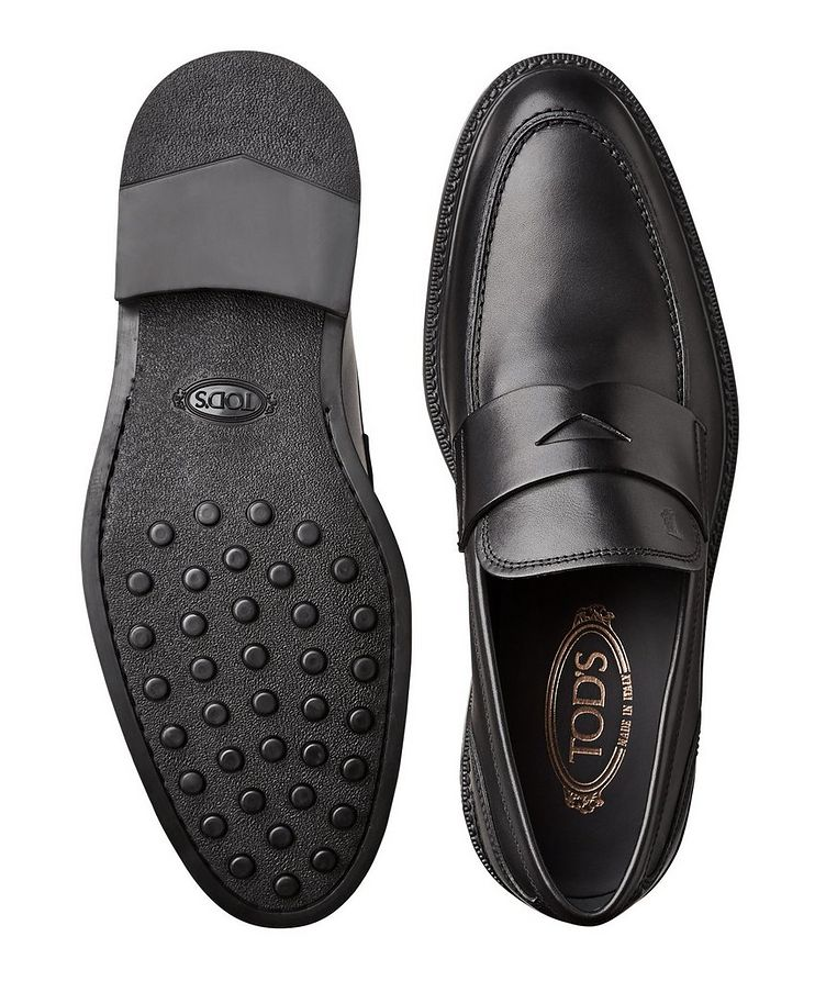 Leather Penny Loafers image 2