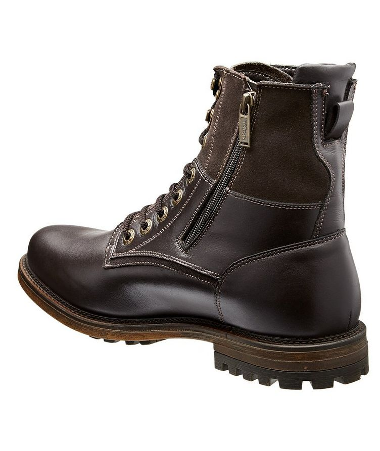Waterproof Leather Shearling Lined Boots image 1