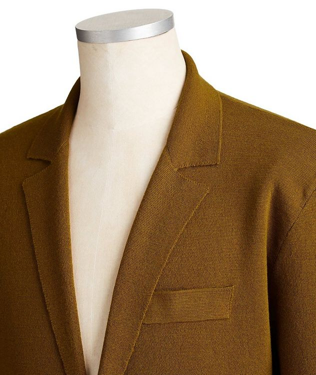 Merino Wool & Silk Cardigan picture 2
