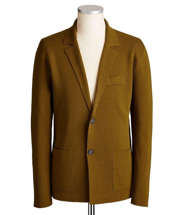 Merino Wool & Silk Cardigan image 0
