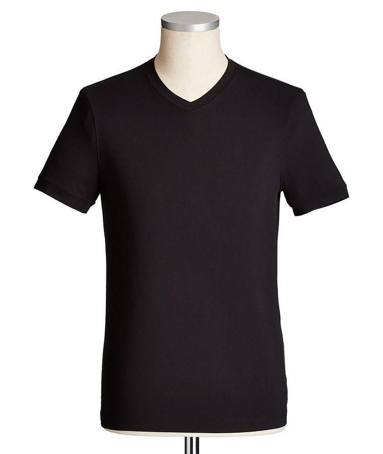 T-shirt à encolure en V image 0