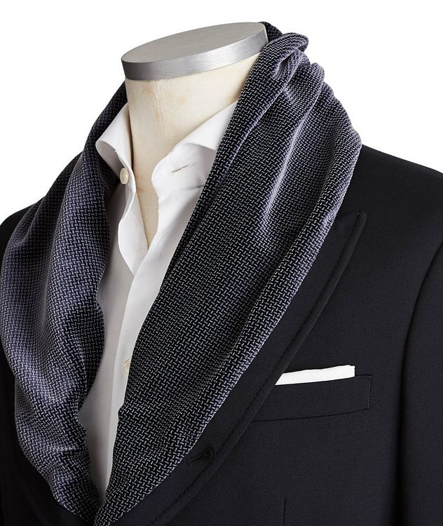 Shawl Collar Sports Jacket picture 2