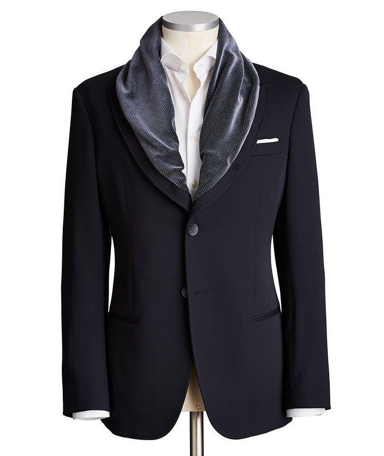 Shawl Collar Sports Jacket image 0