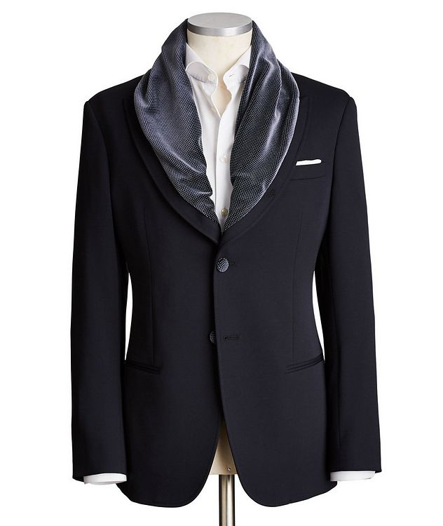 Shawl Collar Sports Jacket picture 1
