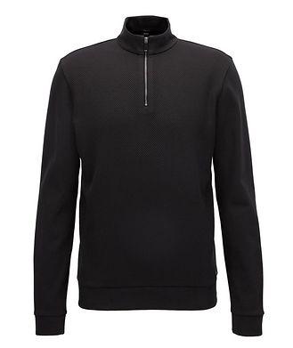 BOSS Half-Zip Sweater