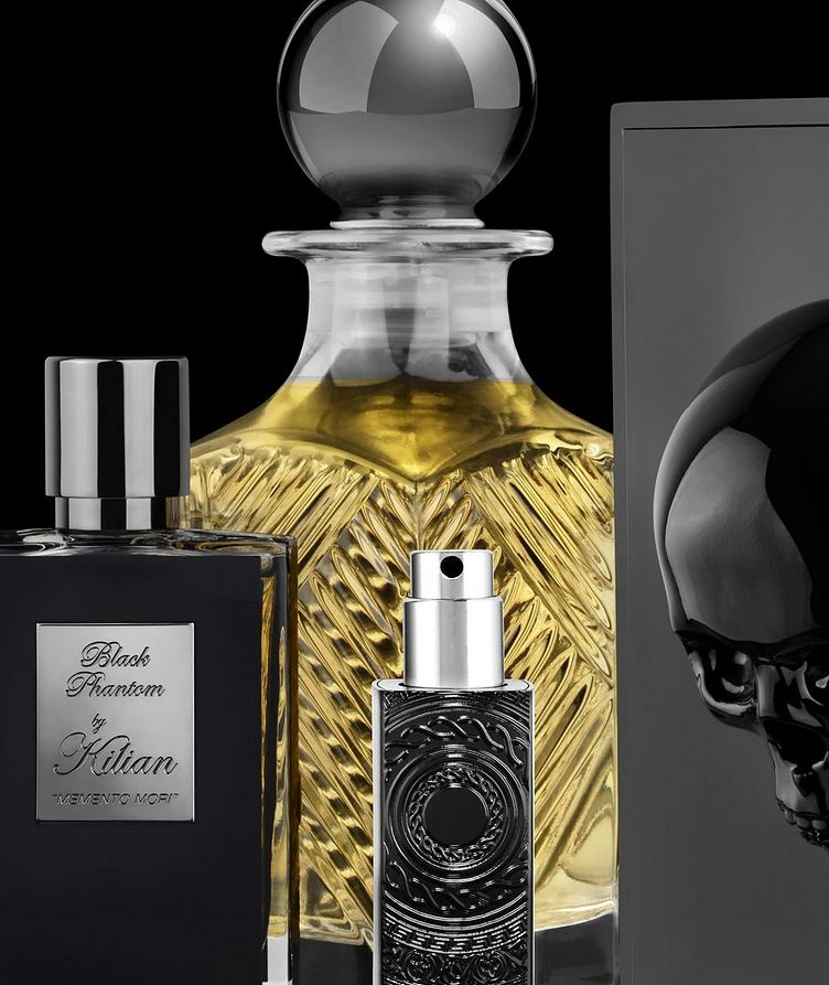 "Black Phantom ""MEMENTO MORI"" Travel Spray with 4 refills image 4"