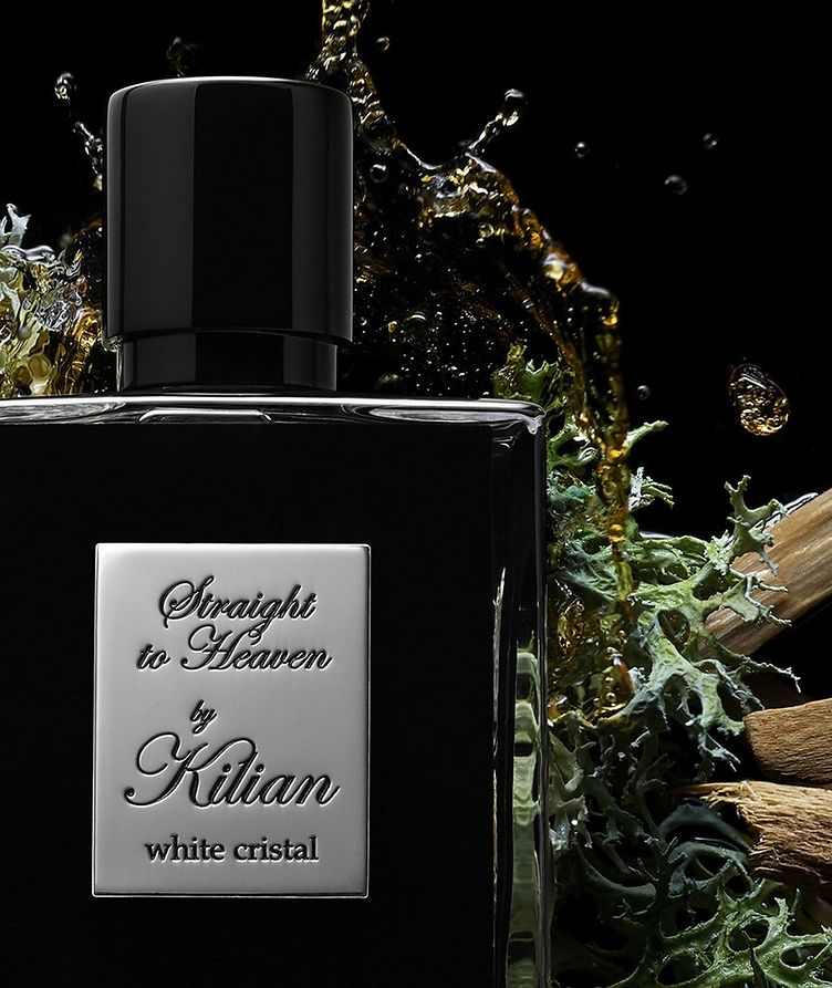 Straight to Heaven White Cristal Refillable Spray and Coffret image 1